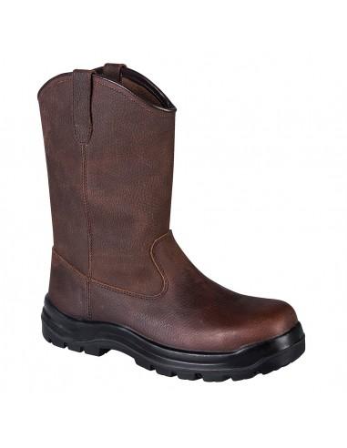 Chaussure montante de Sécurité Compositelite Rigger Indiana S3 Portwest Marron