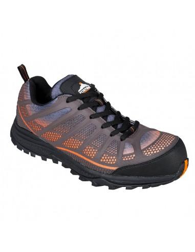 Chaussure de sécurité S1P Portwest Composite Spey Trainer Orange/Noir