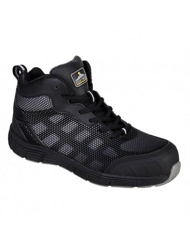 Chaussure montante de Sécurité Compositelite Derwent S1P Portwest Noir/Gris