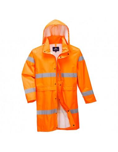 Portwest-Manteau pro haute visibilité léger imperméable 100cm Orange