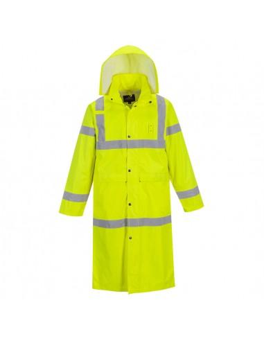 Portwest-Manteau de pluie haute visibilité léger longueur 122cm Jaune