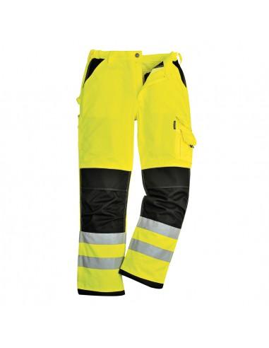 Portwest-Pantalon de sécurité haute visibilité professionnel Xenon Jaune