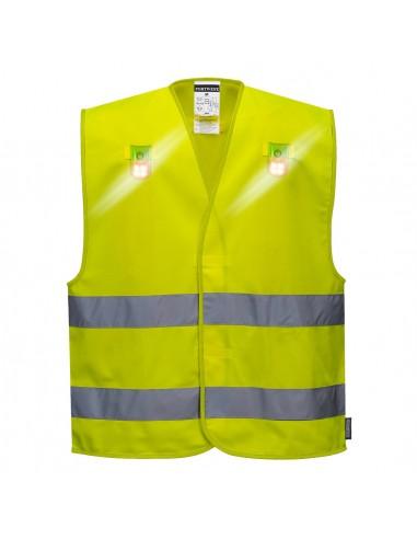 Portwest-Gilet de travail professionnelle ample haute visibilité Versatile Jaune