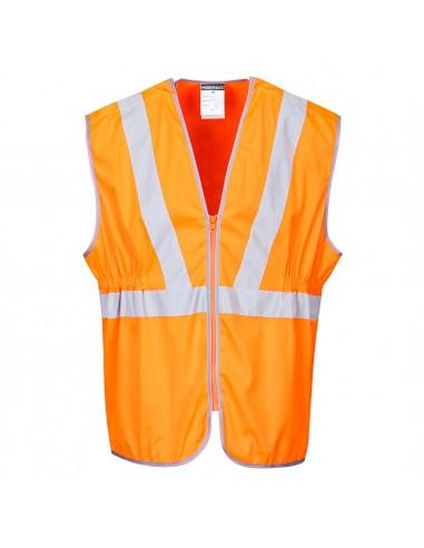 Portwest-Gilet de protection haute visibilité long RIS Orange