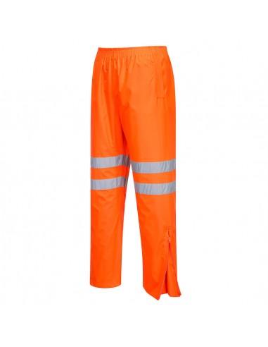Portwest-Pantalon haute visibilité conçu pour le transport ferroviaire Orange