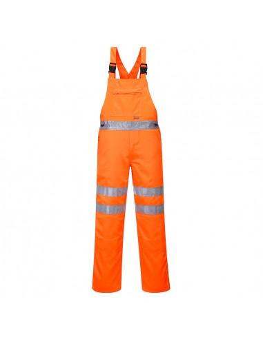 Portwest-Cotte haute visibilité pour les métiers du rail et des routes RIS Orange