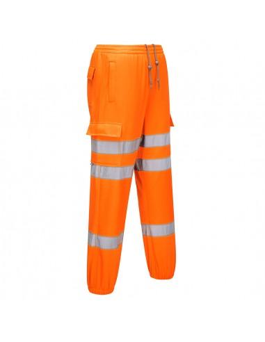 Portwest-Pantalon jogging haute visibilité pro confort maximal Orange