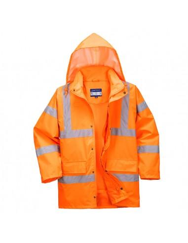 Portwest-Parka pro haute visibilité léger certifié extrême étanchéité Orange