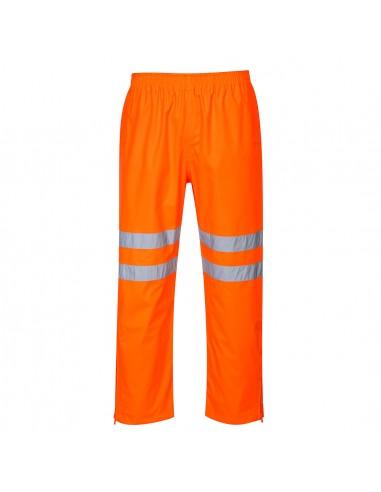 Portwest-Pantalon de sécurité haute visibilité imperméable respirant Orange