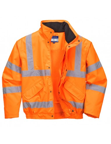 Portwest-Blouson de travail respirant haute visibilité doublure Mesh Orange