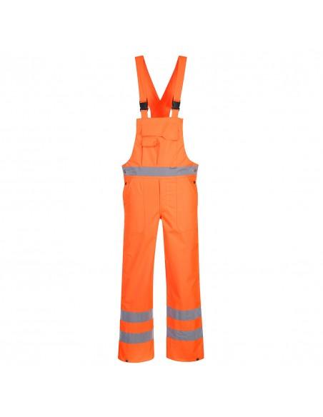 Portwest-Cotte de travail haute visibilité imperméable et respirante Orange