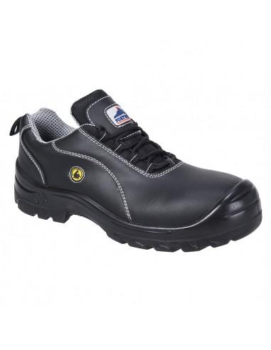 Portwest Chaussure cuir de sécurité Composite ESD S1 Noir