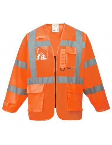 Portwest-Gilet de travail haute visibilité Executive Orange