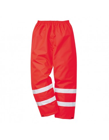 Portwest-Pantalon de travail haute visibilité très résistant à l'eau Rouge
