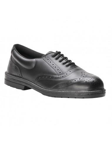 Portwest Chaussure Ville de sécurité Brogue Steelite S1P Noir