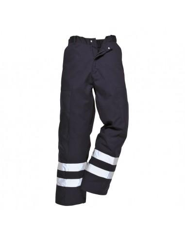 Portwest Pantalon de protection pro contre les matériaux dangereux Noir