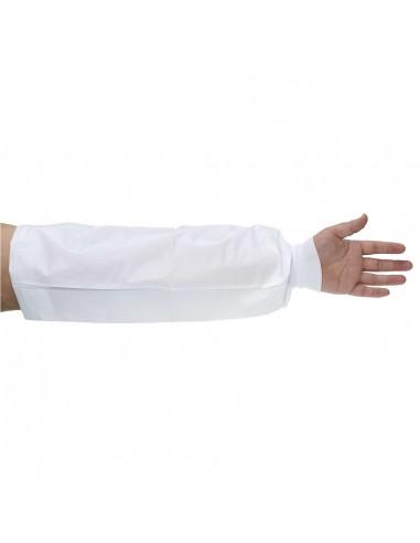 Portwest 150 Manchettes microporeuses avec poignet tricot Type 6PB Blanches