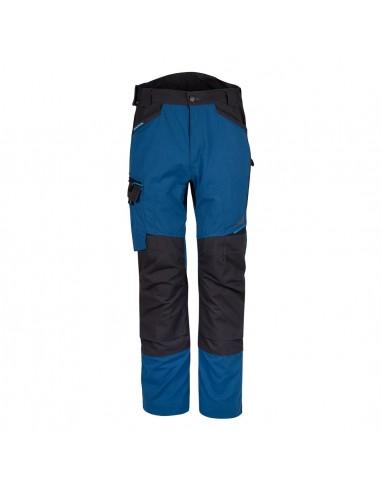 Portwest-Pantalon de travail solide polycoton et canvas WX3 Service Bleu Persan