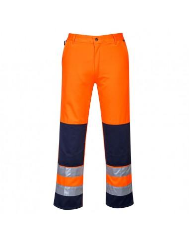 Portwest-Pantalon protection pro haute visibilité Séville Orange
