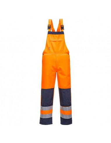 Portwest-Cotte à bretelles haute visibilité très résistante Girona Orange