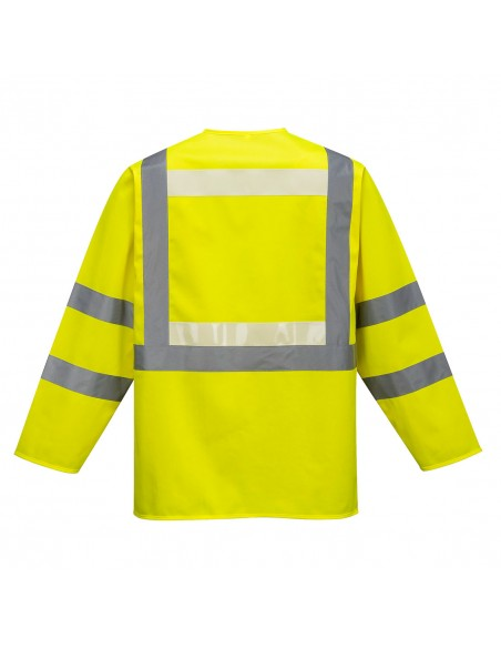 Portwest-Gilet de sécurité haute visibilité manches longues Executive Glowtex Jaune