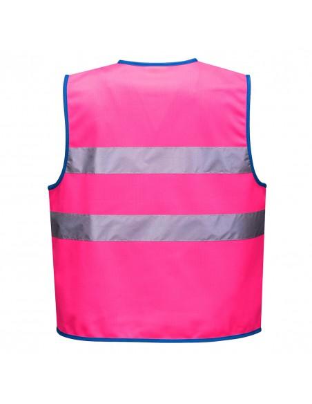 Portwest-Gilet de sécurité enfant haute visibilité Rose