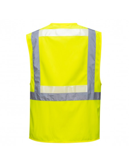 Portwest-Gilet de travail haute visibilité Glowtex Exécutif Jaune
