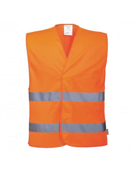 Portwest-Gilet haute visibilité de distanciation sociale 2m Orange