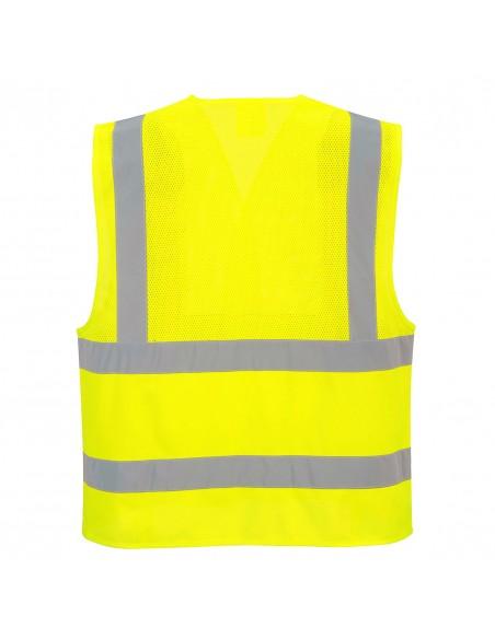 Portwest-Gilet de protection haute visibilité semi-maille Jaune