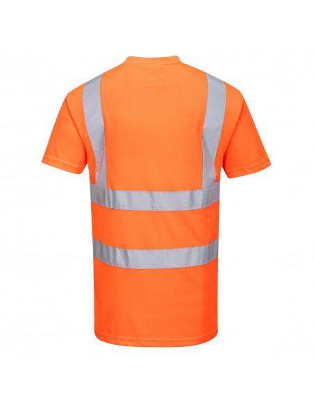 Portwest-T-Shirt de sécurité haute visibilité parfait en temps chaud Orange