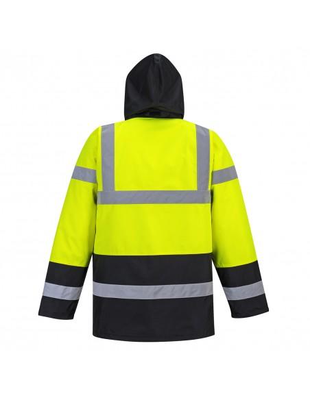 Portwest-Parka de sécurité haute visibilité tous temps bicolore Jaune/Noir