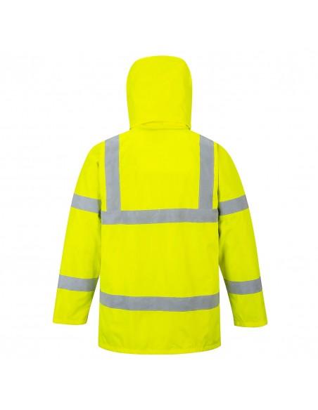 Portwest-Veste de pluie haute visibilité haute qualité pas cher Jaune