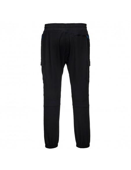 Portwest-Pantalon de travail Slim Fit avec protège-genoux Flexi KX3 Noir