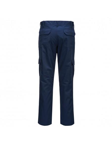 Portwest-Pantalon de travail combat avec poche genoux intérieur Marine