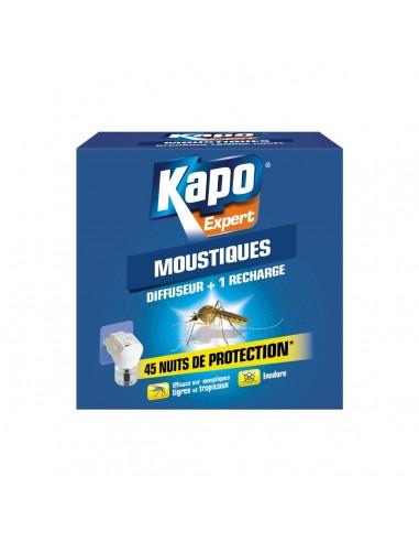 Kapo Diffuseur électrique anti-moustiques avec recharge inclus