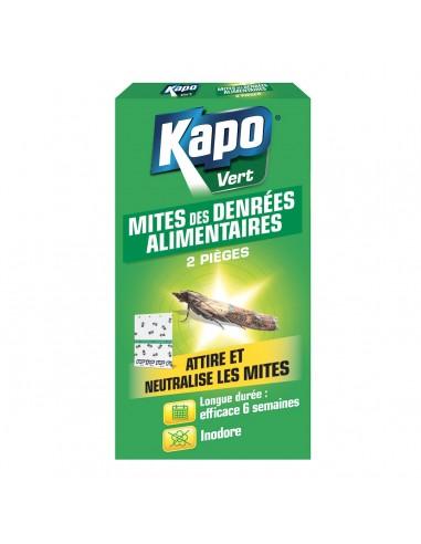 Kapo Étui 2 pièges attire et neutralise les mites alimentaires
