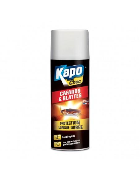 Kapo Aérosol foudroyant protection contre les cafards et blattes