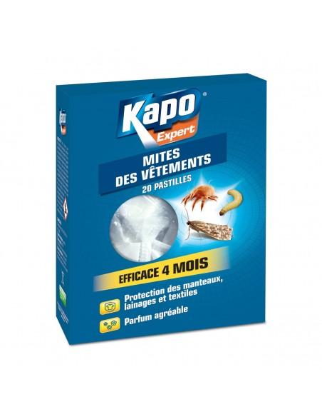 Kapo Pastilles protection textiles anti-mites acariens et larves