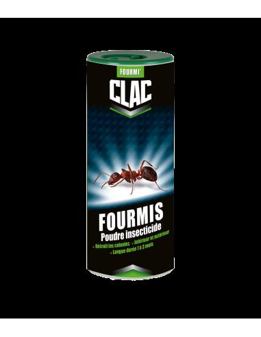 Clac Poudre insecticide détruit les colonies des fourmis 900g