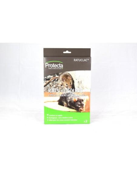 Protecta 2 Plaque engluée jetables pour attraper les souris 19X29 cm