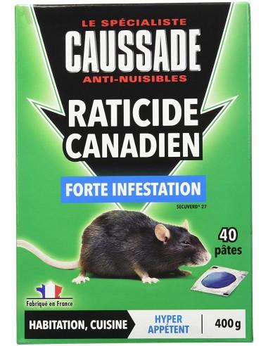 Caussade Raticide canadien contre une forte infestation de rongeurs