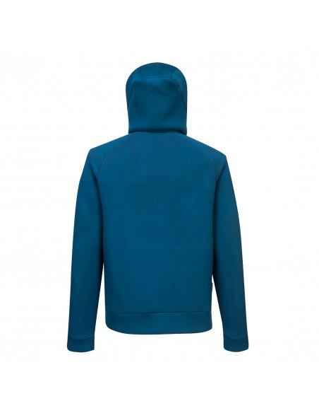 BPortwest Sweat à capuche de travail respirant zippé DX4 Bleu Métro