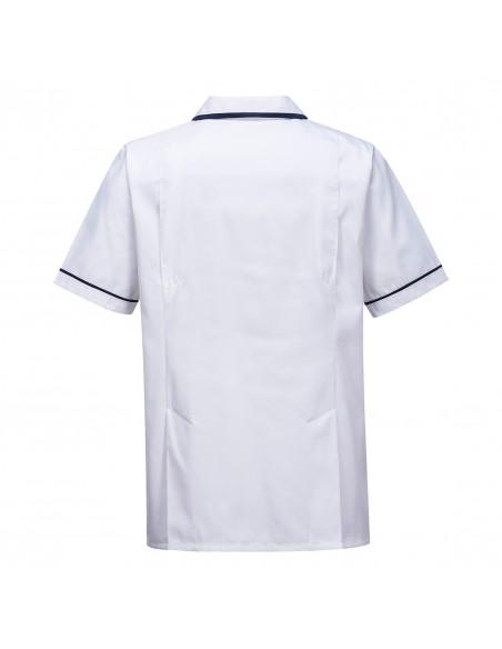 Portwest Tunique Médicale en tissu sergé résistant Blanc