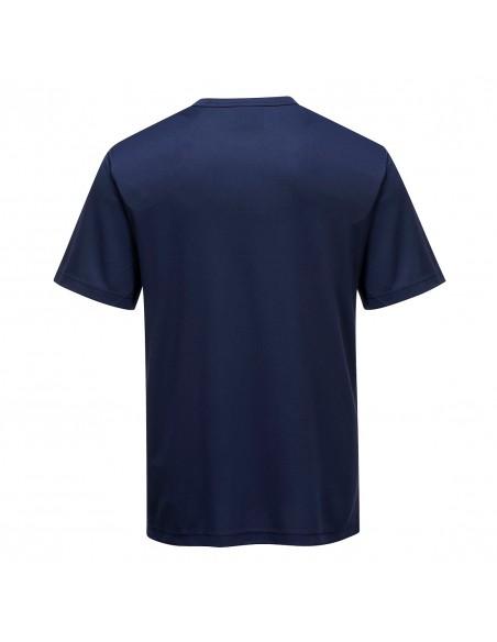 Portwest T-Shirt de travail professionnel en polyester Monza Marine