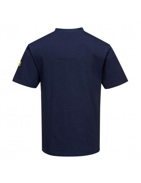 Portwest Tshirt de protection électrostatique léger et confortable Marine