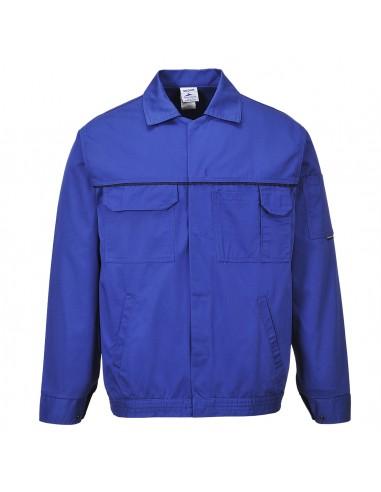Portwest Blouson de travail pratique avec plusieurs poches Bleu Roi