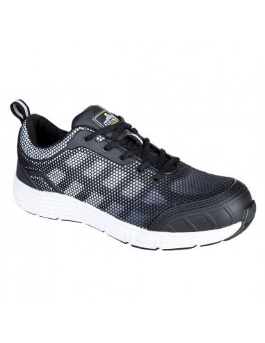 Chaussure Tennis de sécurité S1P Portwest TOVE Steelite Noir/Blanc