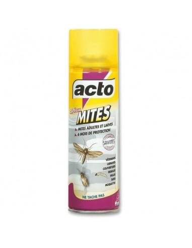 Acto Aérosol insecticide spécial textile anti-mites et larves