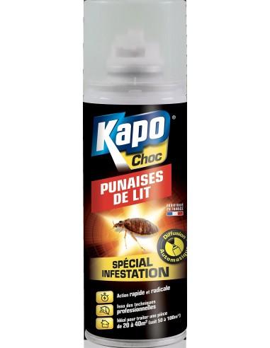 Kapo Aérosol spécial infestation radical punaises de lit 200ml