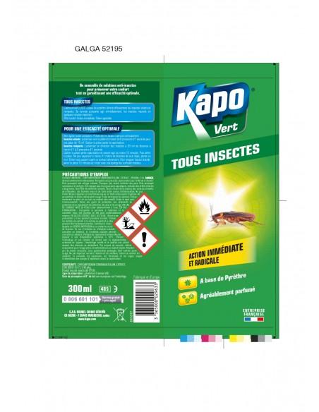 Kapo Aérosol tous insectes volants et rampants naturel